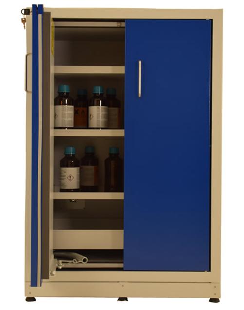 Высокий шкаф для хранения ЛВЖ SAFETYBOX® AC 900/130 S