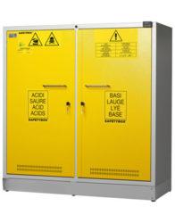 Шкаф для хранения кислот и оснований SAFETYBOX® AB 1100