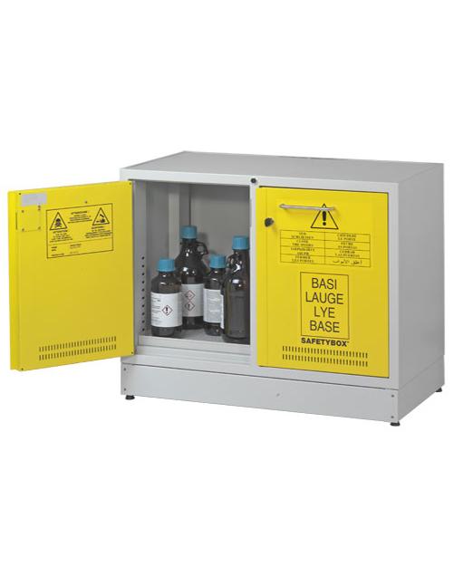 Шкаф для хранения кислот и оснований SAFETYBOX® AB 900/50