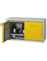 Шкаф подстольный (тумба) для хранения ЛВЖ SAFETYBOX® AC 1200/50 CM