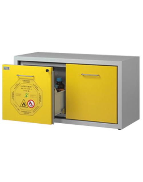 Шкаф подстольный (тумба) для хранения ЛВЖ SAFETYBOX® AC 1200/50 CM DD