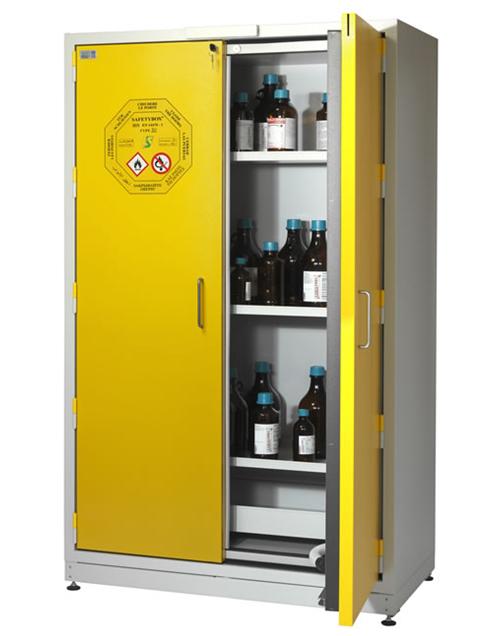 Высокий шкаф для хранения ЛВЖ SAFETYBOX® AC 1200 CM