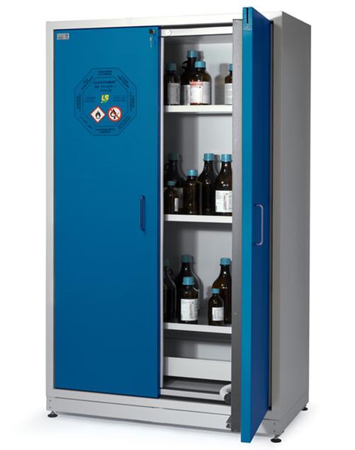 Высокий шкаф для хранения ЛВЖ SAFETYBOX® AC 1200 S
