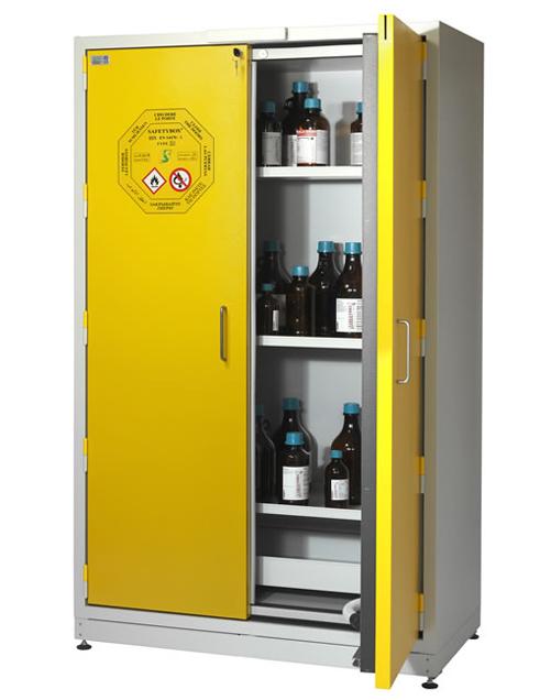 Высокий шкаф для хранения ЛВЖ SAFETYBOX® AC 1200 T30