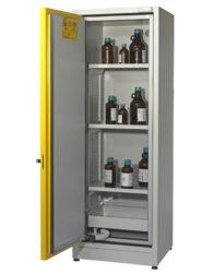 Высокий шкаф для хранения ЛВЖ SAFETYBOX® AC 600 T30