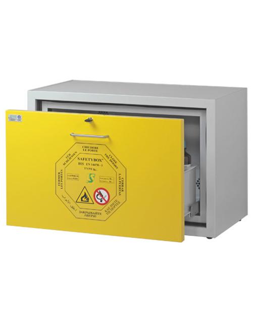 Шкаф подстольный (тумба) для хранения ЛВЖ SAFETYBOX® AC 900/50 CM D