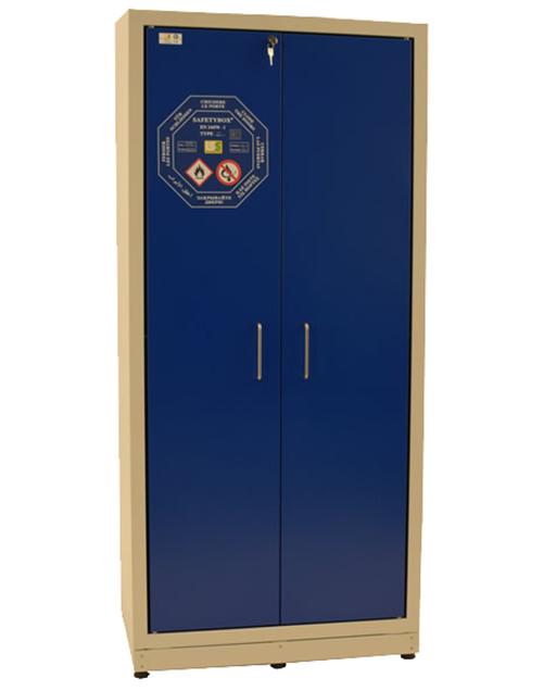 Высокий шкаф для хранения ЛВЖ SAFETYBOX® ac 900 s